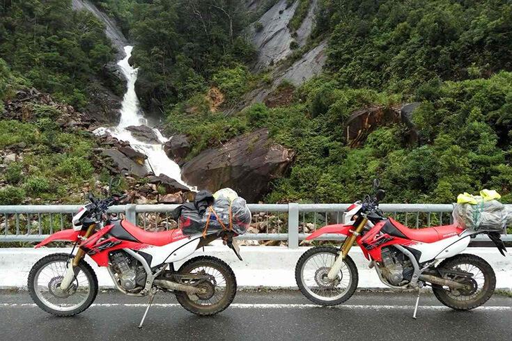 Se rendre à Hue depuis Hanoi en moto