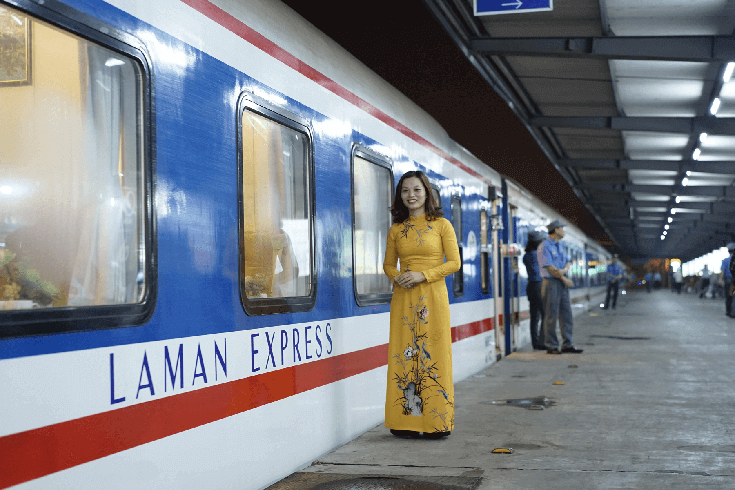 Se rendre à Hue depuis Hanoi en train