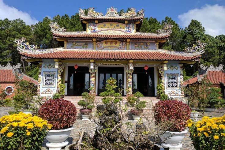 Temple de la princesse Huyen Tran