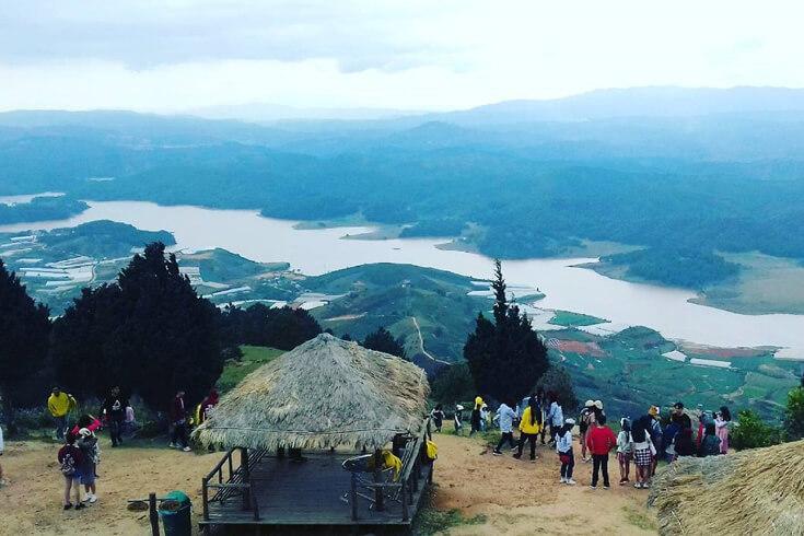 Trek à la montagne Lang Biang (Da Lat)