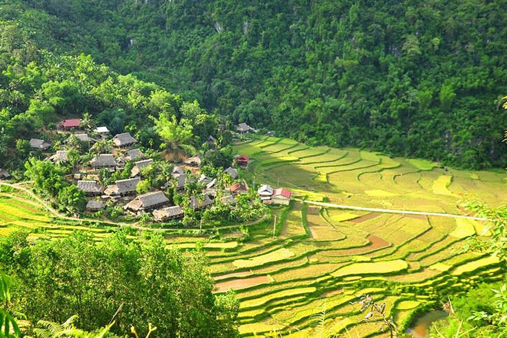 Trek à la réserve naturelle de Pu Luong