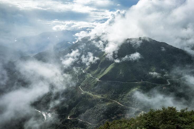 Un aperçu du mont Fansipan