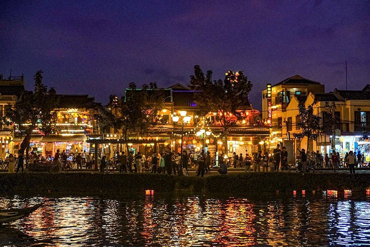 Architecture de la ville Hoi An