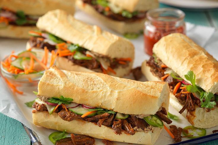 Banh Mi ( sandwich vietnamien) dans la culture alimentaire vietnamienne