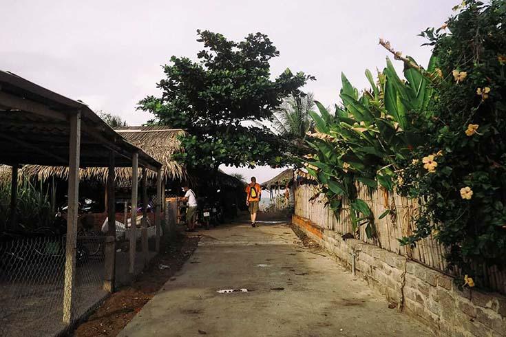 Bars et restaurants à la plage An Bang