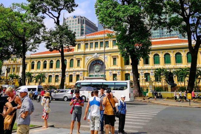 Bureau de poste central de Saigon