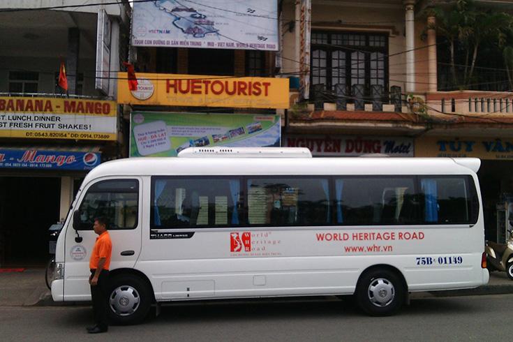 Bus de Hue à Hoi An