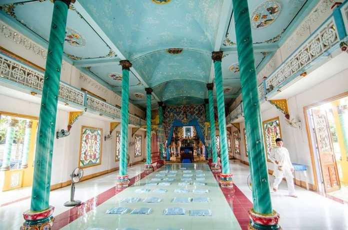 Ce que vous pouvez voir au temple Cao Dai Tay Ninh