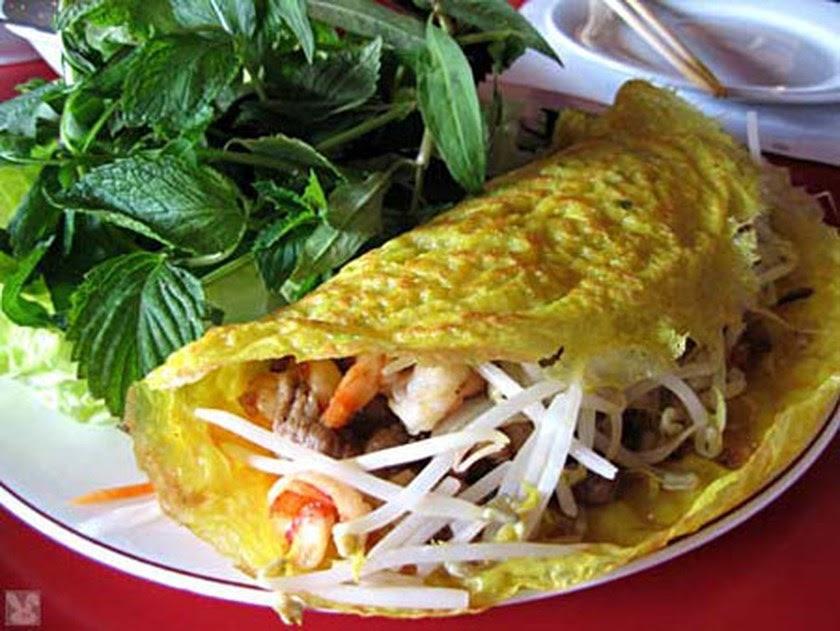 Crêpe vietnamienne (Banh xeo)