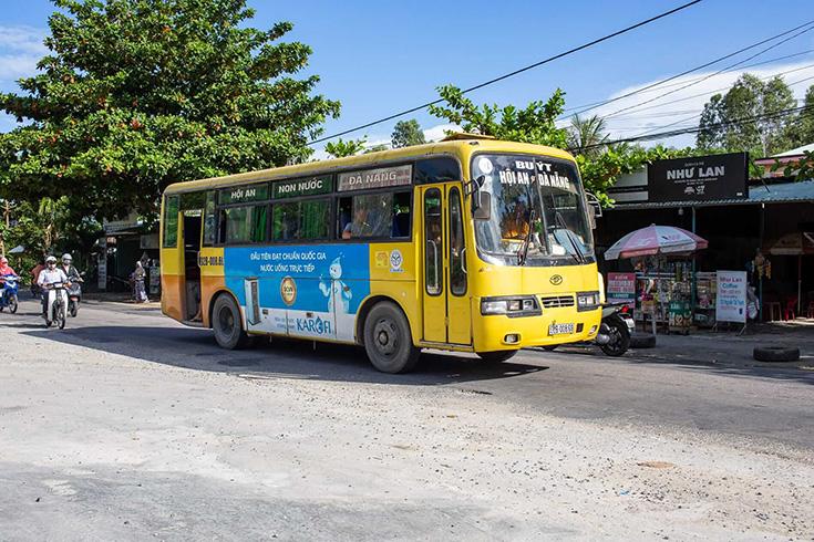 De l'aéroport de Da Nang à Hoi An en bus