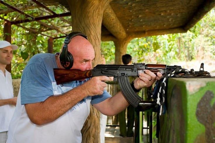 Faire l'expérience du tir au fusil