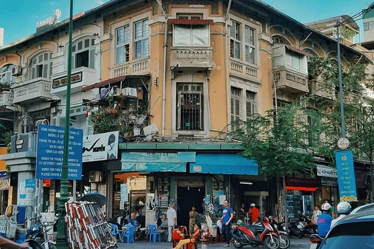 Histoire du marché Ben Thanh