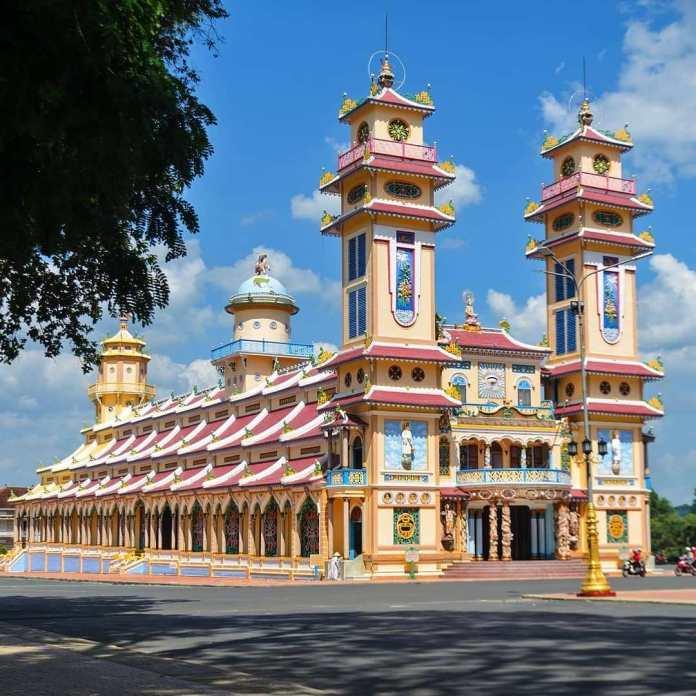 Histoire du temple Cao Dai Tay Ninh