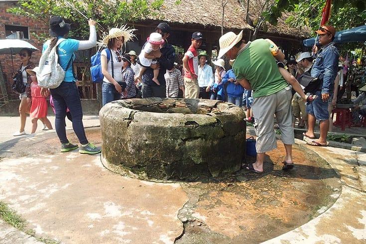 L'ancien puits du peuple Cham