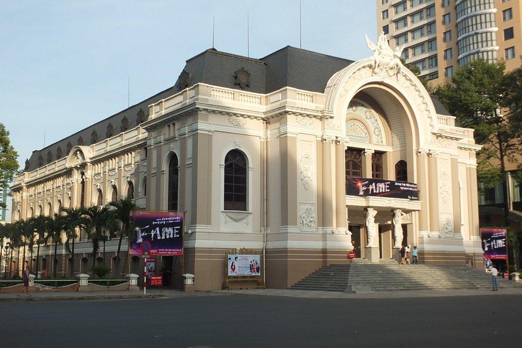 L'aperçu de l'opéra de Saïgon