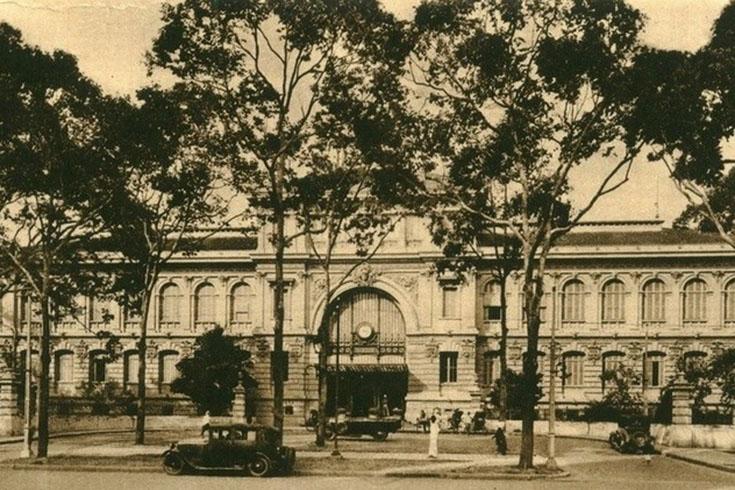 L'histoire de la poste centrale de Saïgon