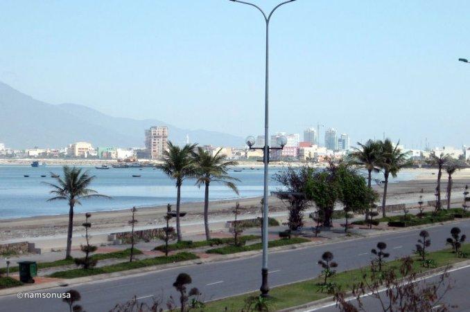La plage de Thanh Binh