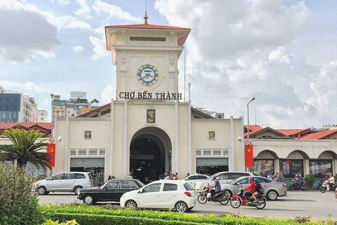 Le marché Ben Thanh