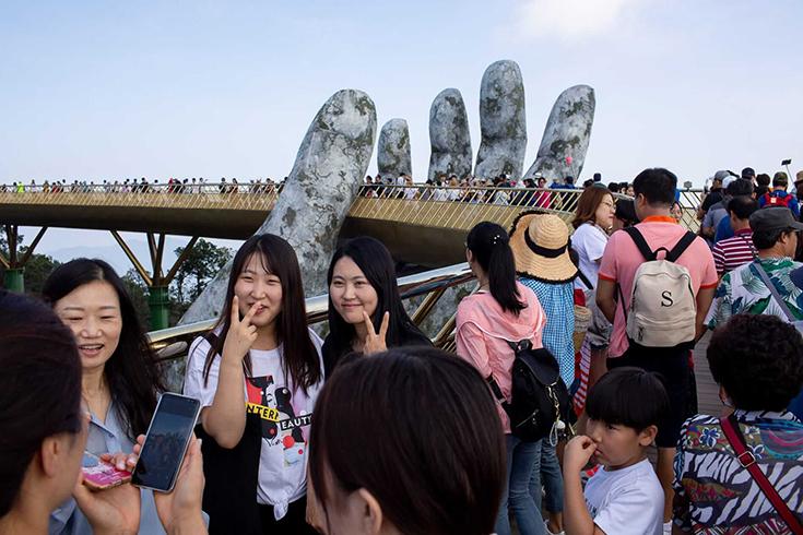 Le meilleur moment pour visiter le pont Golden Bridge Da Nang