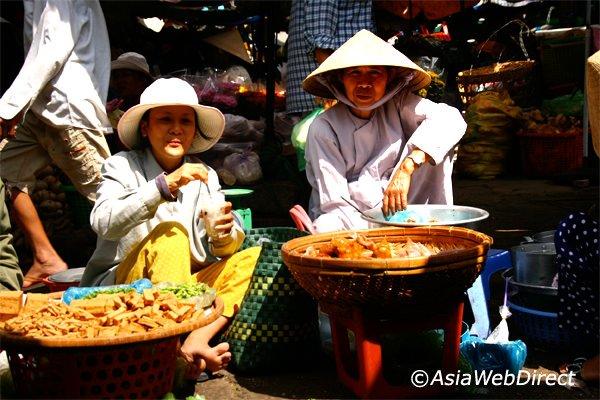 Marché central de Phan Thiet