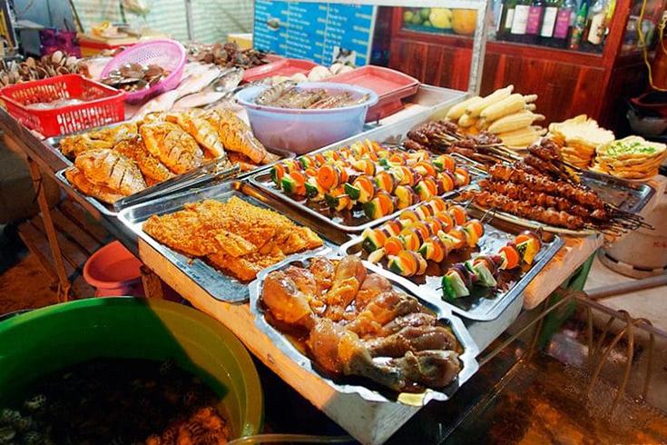 Marché de nuit de Nha Trang