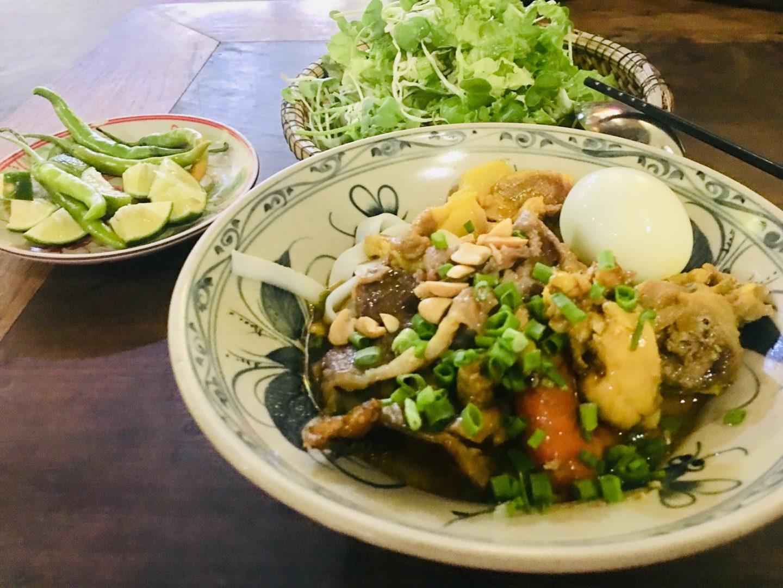 Nouille Quang (nouille au curcuma vietnamien)