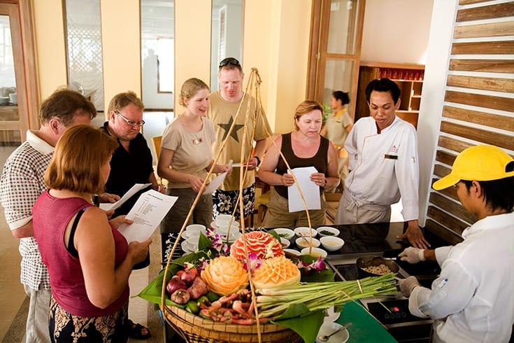 Participer à un cours de cuisine