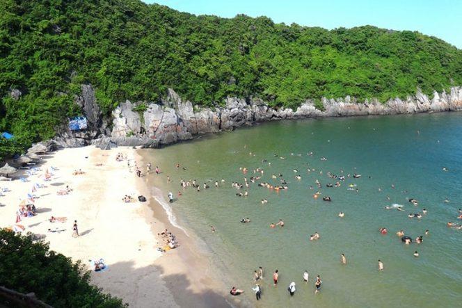 Plages de Cat Co (île de Cat Ba – Hai Phong)