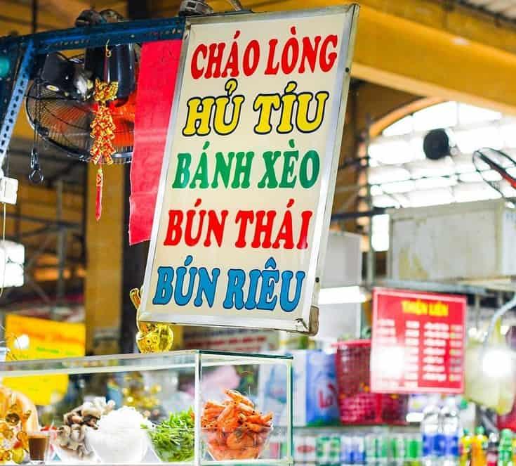 Que manger au marché Ben Thanh