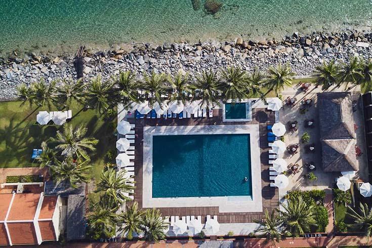 Resorts de luxe à la plage de Cua Dai