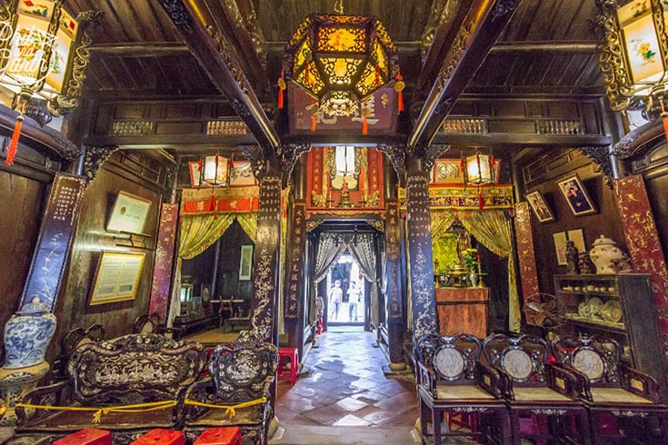 Visite de la maison de la famille Tan Ky