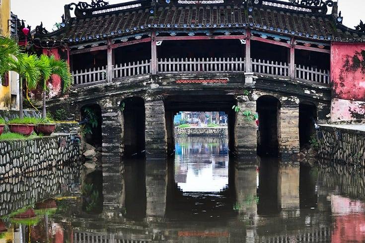 Visite du pont couvert japonais