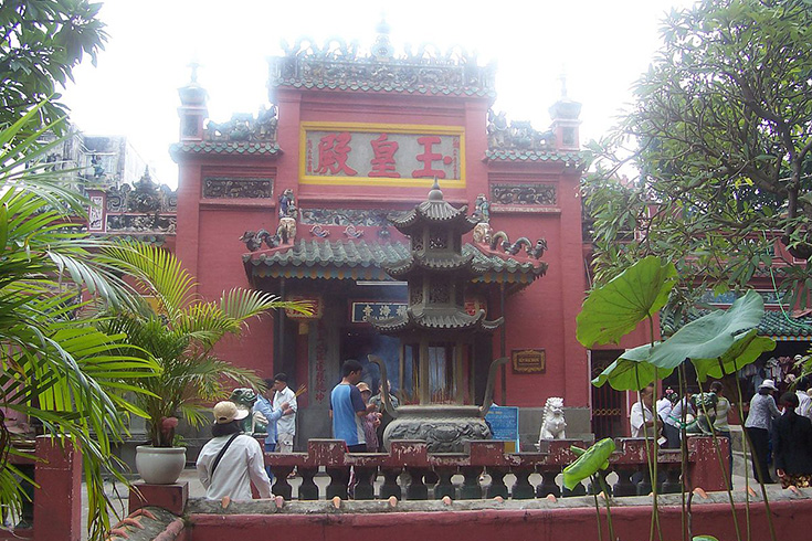 Voir la pagode de l'empereur Jade