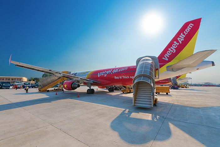 Vol de Hanoi à Saigon – Ho Chi Minh Ville