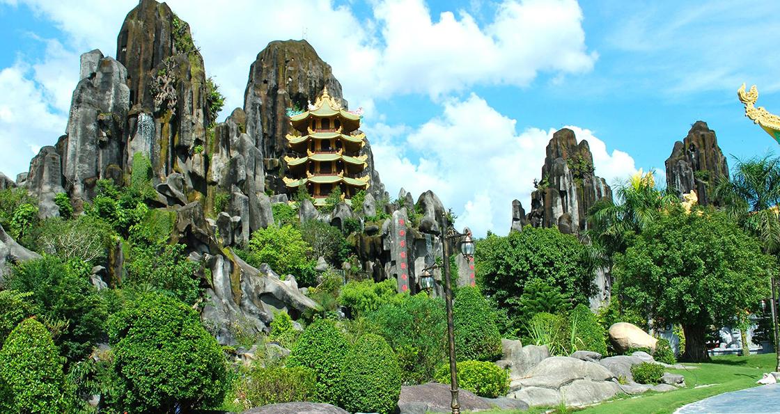 montagne de marbre vietnam