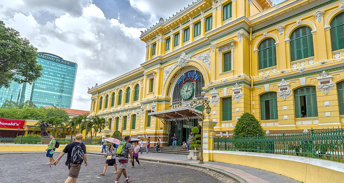 poste centrale de saïgon