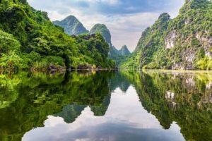 Beauté cachée de Trang An
