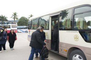 baie d'halong et hanoi bus