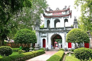hanoi guide temple de la litterature
