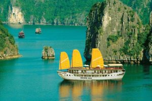 jonque 5 etoiles Indochina Sails